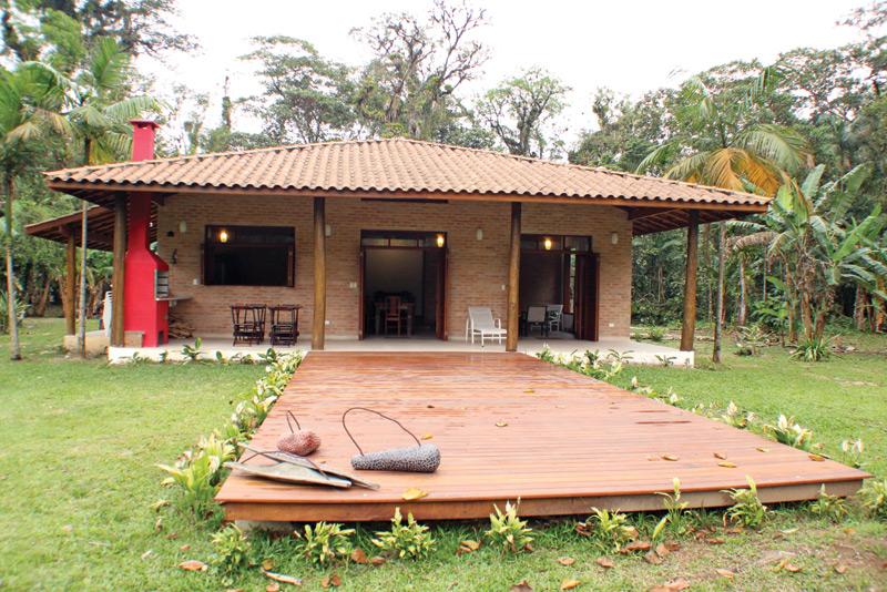 Casa r stica e colonial rac arquitetura - Ideas para construir casas campo ...